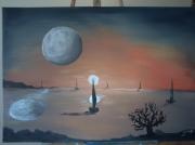Lune Soleil Dessin Galerie Creation